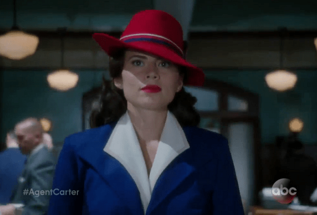 Hayley Atwell Gets New Passport in Full Peggy Carter Look